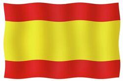 KANSAINV.LIPPU ESPANJA 20X30