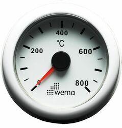 PYROMETRI 0 - 800°, VALKOINEN