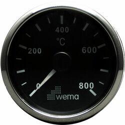 PYROMETRI 0-800°, MUSTA/RST KEHYS