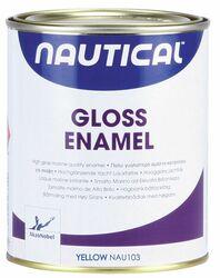 NAUTICAL GLOSS ENAMEL KELTAINEN 750
