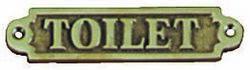 """""""TOILET"""" -KYLTTI 160x32MM"""