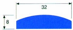 KÖLILISTA PVC 19MM x 4,0 MM 5M VALK