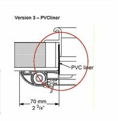 HATCH LINER 68 mm